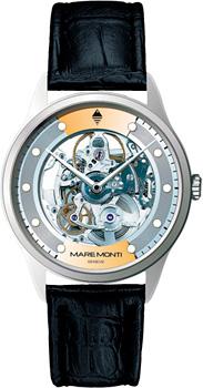 Швейцарские наручные  мужские часы Maremonti 156.367.421. Коллекция Adventure Skeleton