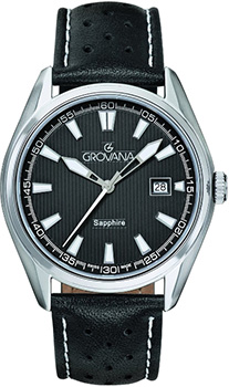 Швейцарские наручные  мужские часы Grovana 1584.1533. Коллекция Traditional