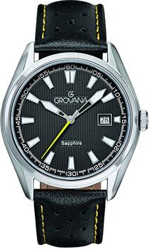 Швейцарские наручные  мужские часы Grovana 1584.1538. Коллекция Traditional