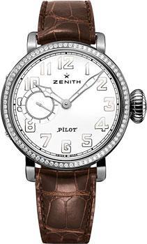 Швейцарские наручные  женские часы Zenith 16.1930.681_31.C725