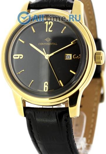 Мужские наручные швейцарские часы в коллекции Leather Sophistication Continental