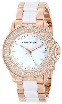 fashion наручные  женские часы Anne Klein 1626WTRG. Коллекция Ceramics