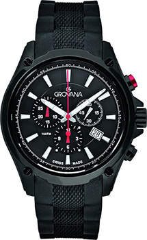 Швейцарские наручные  мужские часы Grovana 1635.9877. Коллекция Contemporary