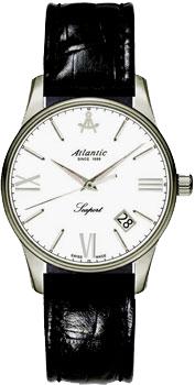 Швейцарские наручные  женские часы Atlantic 16350.41.25. Коллекция Seaport