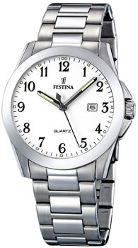 fashion наручные  мужские часы Festina 16376.3. Коллекция Classic