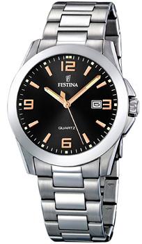 fashion наручные  мужские часы Festina 16376.6. Коллекция Classic