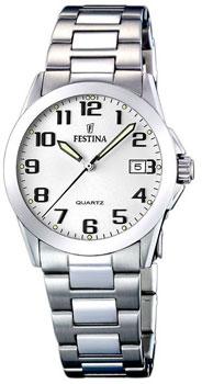 fashion наручные  женские часы Festina 16377.7. Коллекция Classic