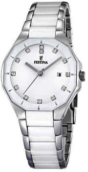 fashion наручные  женские часы Festina 16399.1. Коллекция Ceramic