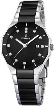 fashion наручные  женские часы Festina 16399.3. Коллекция Ceramic