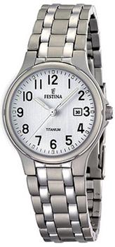 fashion наручные  женские часы Festina 16461.1. Коллекция Calendario Titanium