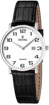 fashion наручные  женские часы Festina 16477.1. Коллекция Classic