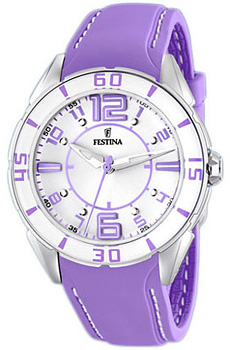 fashion наручные  женские часы Festina 16492.4. Коллекция Sport