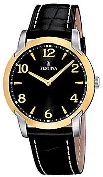 fashion наручные  мужские часы Festina 16508.3. Коллекция Classic