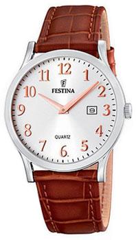 fashion наручные  мужские часы Festina 16520.3. Коллекция Classic