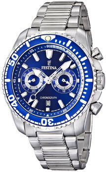fashion наручные  мужские часы Festina 16564.3. Коллекция Chronograph