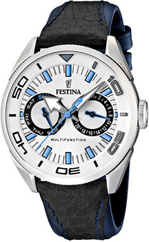 fashion наручные  мужские часы Festina 16572.1. Коллекция Multifunction