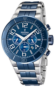 fashion наручные  мужские часы Festina 16576.3. Коллекция Sport