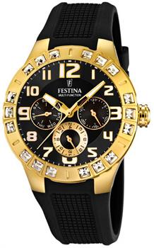 fashion наручные  женские часы Festina 16581.4. Коллекция Golden Dream