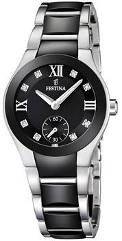 fashion наручные  женские часы Festina 16588.3. Коллекция Ceramic