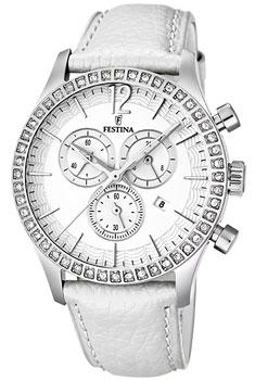 fashion наручные  женские часы Festina 16590.1. Коллекция Chronograph