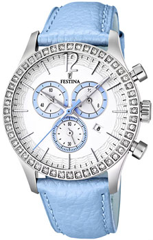 fashion наручные  женские часы Festina 16590.2. Коллекция Chronograph