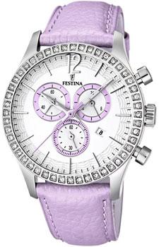 fashion наручные  женские часы Festina 16590.3. Коллекция Chronograph
