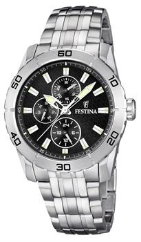 fashion наручные  мужские часы Festina 16606.4. Коллекция Multifunction
