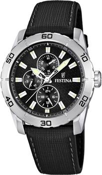fashion наручные  мужские часы Festina 16607.4. Коллекция Multifunction