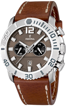 fashion наручные  мужские часы Festina 16614.3. Коллекция Chronograph