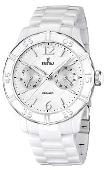 fashion наручные  женские часы Festina 16622.1. Коллекция Ceramic