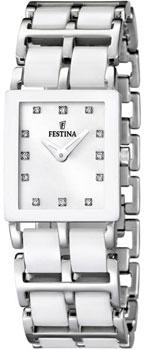 fashion наручные  женские часы Festina 16625.4. Коллекция Ceramic