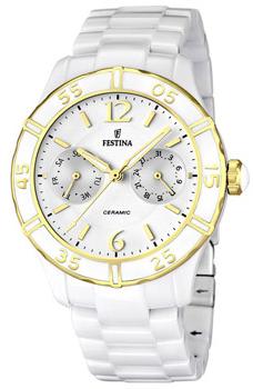 fashion наручные  женские часы Festina 16634.1. Коллекция Ceramic