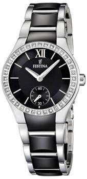 fashion наручные  женские часы Festina 16637.2. Коллекция Ceramic