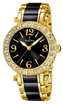 fashion наручные  женские часы Festina 16644.2. Коллекция Crystal