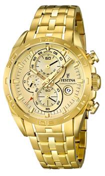 fashion наручные  мужские часы Festina 16656.2. Коллекция Crono Acero Sin Alarma