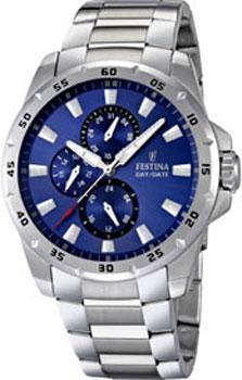fashion наручные  мужские часы Festina 16662.4. Коллекция Multifunction