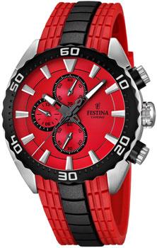 fashion наручные  мужские часы Festina 16664.5. Коллекция Chronograph