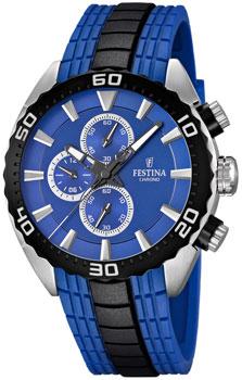 fashion наручные  мужские часы Festina 16664.6. Коллекция Chronograph