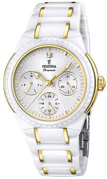 fashion наручные  женские часы Festina 16699.2. Коллекция Ceramic