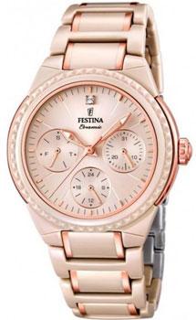 fashion наручные  женские часы Festina 16699.6. Коллекция Ceramic