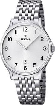 fashion наручные  мужские часы Festina 16744.1. Коллекция Classic
