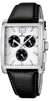 fashion наручные  мужские часы Festina 16756.1. Коллекция Crono Acero Sin Alarma