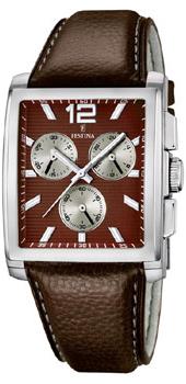 fashion наручные  мужские часы Festina 16756.3. Коллекция Crono Acero Sin Alarma