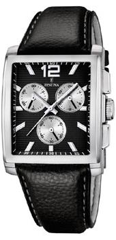 fashion наручные  мужские часы Festina 16756.4. Коллекция Crono Acero Sin Alarma