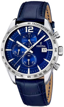 fashion наручные  мужские часы Festina 16760.3. Коллекция Chronograph