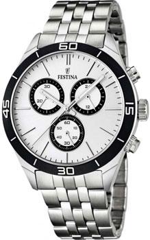 fashion наручные  мужские часы Festina 16762.1. Коллекция Chronograph