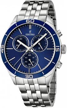 fashion наручные  мужские часы Festina 16762.2. Коллекция Chronograph