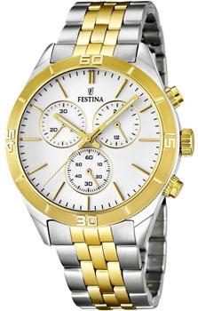 fashion наручные  мужские часы Festina 16763.1. Коллекция Chronograph