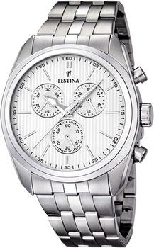 fashion наручные  мужские часы Festina 16778.1. Коллекция Chronograph