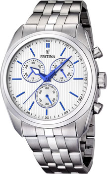 fashion наручные  мужские часы Festina 16778.2. Коллекция Chronograph